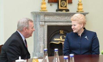 Richardas Durbinas ir Dalia Grybauskaitė