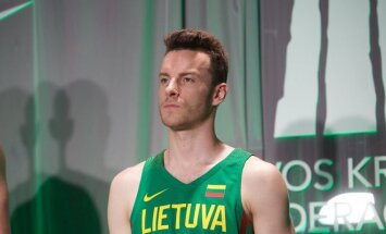 Lietuvos krepšinio rinktinės olimpinės aprangos pristatymas