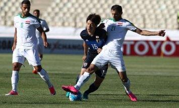 Futbolas: Irakas – Japonija