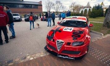 """""""Alfa Romeo"""" klubo sezono atidarymas neapsiėjo be netikėtumų"""