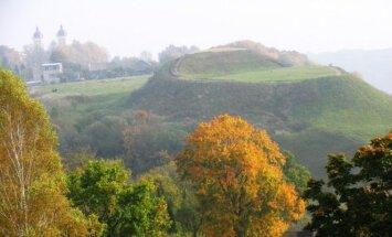 Seredžiaus piliakalnis Panemunių regioniniame parke