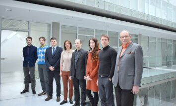 """""""Gruppo FOS Lithuania"""" vadovė R. Makauskienė kartu su KTU Biomedicininės inžinerijos instituto komanda"""