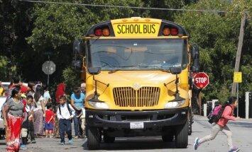 JAV mokyklinis autobusas