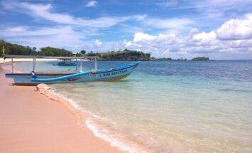 4. Rožinis paplūdimys
