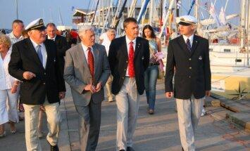 Kuršių marių regatos svečiai 2007-aisiais (Klaipėdos sportininkų namų archyvo nuotrauka)