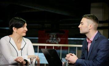 Austėja Landsbergienė ir Mindaugas Jackevičius