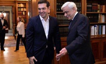 Alexis Tsipras ir Prokopis Pavlopoulos