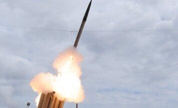 THAAD raketos paleidimas