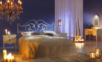 Įkvepiantis miegamojo interjeras