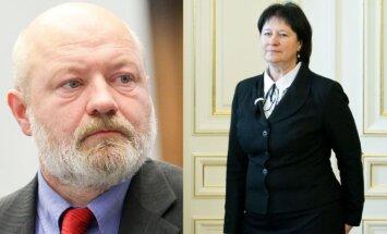 E. Gentvilas ir V. Baltraitienė