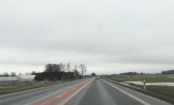 Via Baltica kelio atkarpa tarp Panevėžio ir Pasvalio rajono