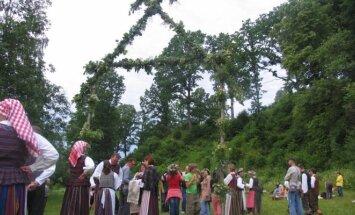 Tradicinė šventė Tytuvėnų regioniniame parke