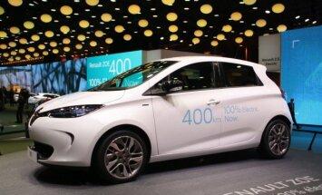 Renault Zoe dabar galės vienu įkrovimu įveikti iki 400 km