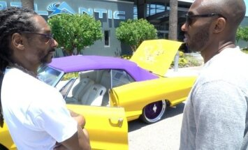 Snoop Doggo dovana Kobe Bryantui