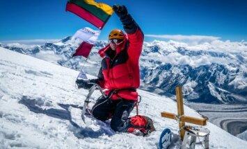 Alpinistas S. Damulevičius: labai daug išmokau iš kalnų
