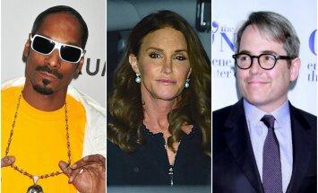 Snoop Doggas, C. Jenner, M. Broderickas