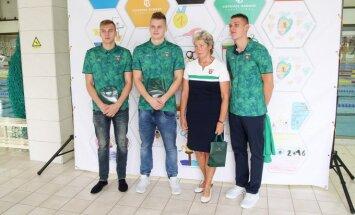 Olimpinės monetos pristatyme – Lietuvos plaukikų palydėtuvės į Rio de Žaneirą