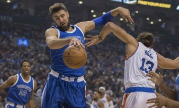 NBA, Toronto Raptors - Niujorko Knicks, Jonas Valančiūnas