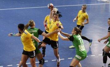 Europos moterų rankinio čempionato atranka. Lietuva - Baltarusija