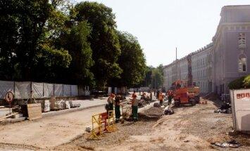Street reconstruction