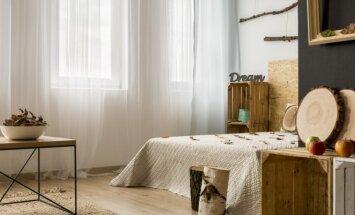 5 patarimai, kaip padalinti studijos tipo butą į atskiras erdves