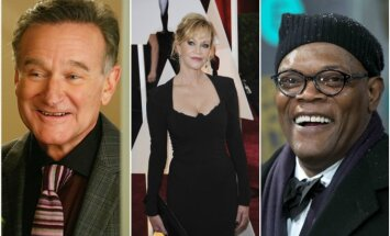 Robinas Williamsas, Melanie Griffith, Samuelis L Jacksonas