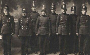 Viešosios policijos pareigūnai 1930-aisiais, S. Andriušio archyvo nuotr.