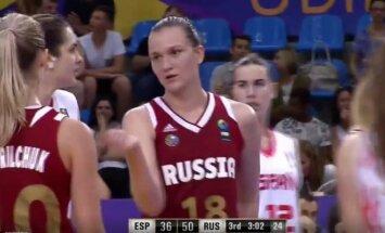 Rusijos merginų krepšinio rinktinė