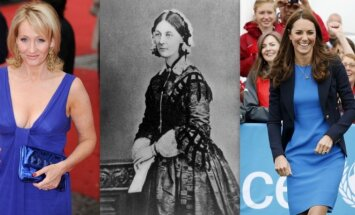 J.K. Rowling, Florence Nightingale, Kate Middleton