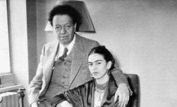 Diego Rivera ir Frida Kahlo
