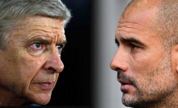 Arsene'as Wengeras ir Josepas Guardiola