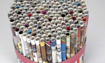Kūrybiškas sprendimas: kaip prasmingai panaudoti senus žurnalus