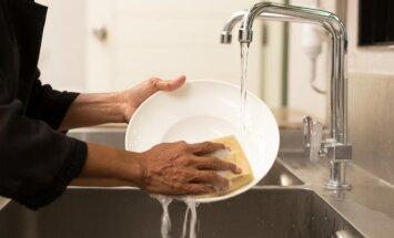 Kas turi namuose išplauti indus? Išspręskite amžiaus dilemą!
