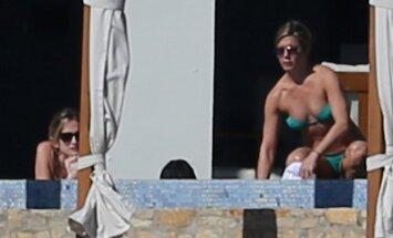 J. Aniston ir C. Cox atostogos Meksikoje