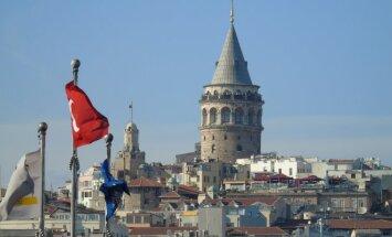 Galatos bokštas. Stambulas, Turkija