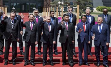 Pasaulio lyderiai susitiko Pekine naujojo Šilko kelio pristatyme