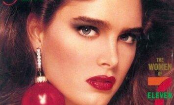 1986 m. gruodžio Playboy viršelyje - Brooke Shields