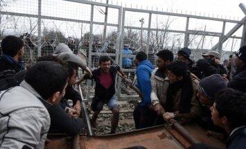 Refugees at Greece's border