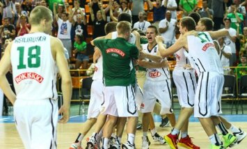 Jaunieji Lietuvos krepšininkai prasibrovė į Europos čempionato finalą