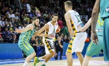 Pirmose draugiškose rungtynėse Lietuva įveikė Australiją