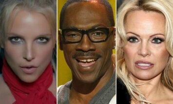 Britney Spears, Eddie Murphy, Pamela Anderson