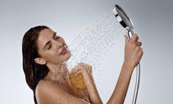 5 patarimai, kaip išsirinkti dušo galvą