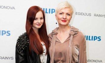 Aušra Žvirblienė-Haglund su dukra