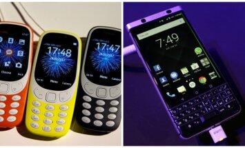 Nokia 3310, BlackBerry KeyOne
