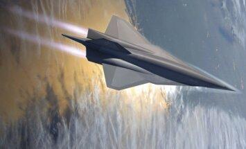 Lockheed Martin hipergarsinis lėktuvas SR-72