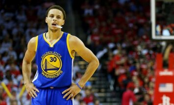 Stephenas Curry'is pelnė 40 taškų