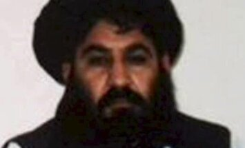 Afganistano Talibano lyderis mula Akhtaras Mansouras