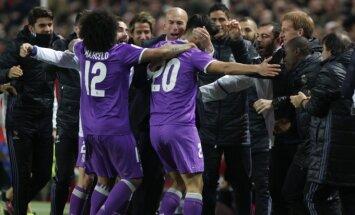Real futbolininkai džiaugiasi