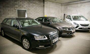 Lietuviai mieliau renkasi senesnius Audi ar Volkswagen