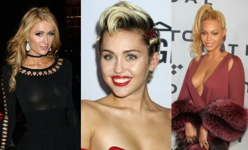 Paris Hilton, Miley Cyrus, Beyonce